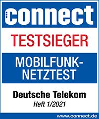 Testsieger 2021 Telekom
